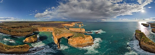 The Twelve Apostles, Australia - AirPano.com • 360 Degree Aerial Panorama • 3D Virtual Tours Around the World