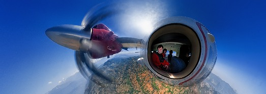 Unreal Aircraft of Ivan Roslyakov - AirPano.com • 360 Degree Aerial Panorama • 3D Virtual Tours Around the World