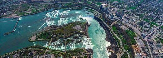 Niagara Falls, ΗΠΑ-Καναδά - AirPano.com • 360 μοιρών Εναέρια Πανόραμα • 3D Virtual Tours σε όλο τον κόσμο