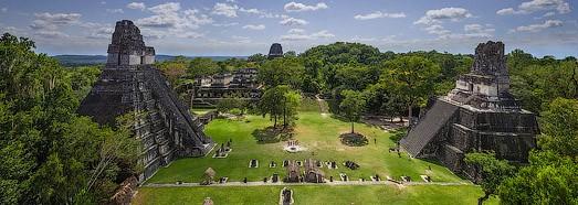 Maya Pyramids, Tikal, Guatemala - AirPano.com • 360 Degree Aerial Panorama • 3D Virtual Tours Around the World