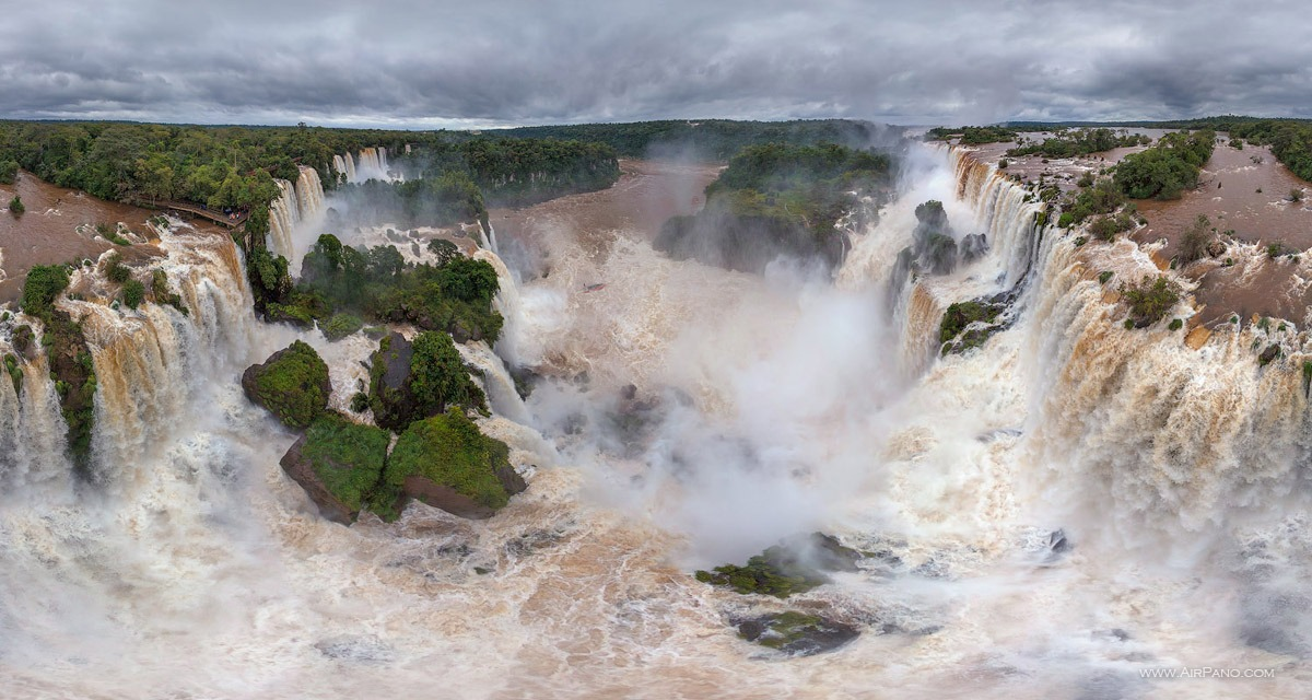 The Iguazu Falls #44 • AirPano.com • Photo