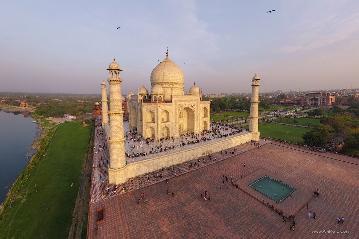 India, Taj Mahal #13 • AirPano.com • Photo