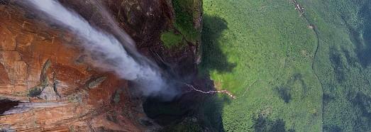 Самый высокий в мире водопад Анхель, Венесуэла - AirPano.ru • 360 Градусов Аэрофотопанорамы • 3D Виртуальные Туры Вокруг Света