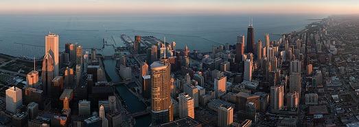 Чикаго, Иллинойс, США - AirPano.ru • 360 Градусов Аэрофотопанорамы • 3D Виртуальные Туры Вокруг Света