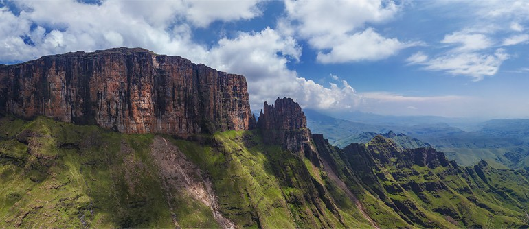 The Drakensberg - Dragon Mountains, South Africa - AirPano.com • 360° Aerial Panorama • 3D Virtual Tours Around the World