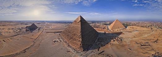 Великие Египетские пирамиды в Гизе - AirPano.ru • 360 Градусов Аэрофотопанорамы • 3D Виртуальные Туры Вокруг Света