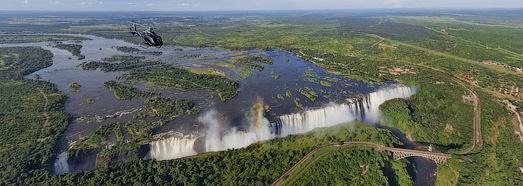 Виртуальный тур над водопадом Виктория, Замбия-Зимбабве - AirPano.ru • 360 Градусов Аэрофотопанорамы • 3D Виртуальные Туры Вокруг Света