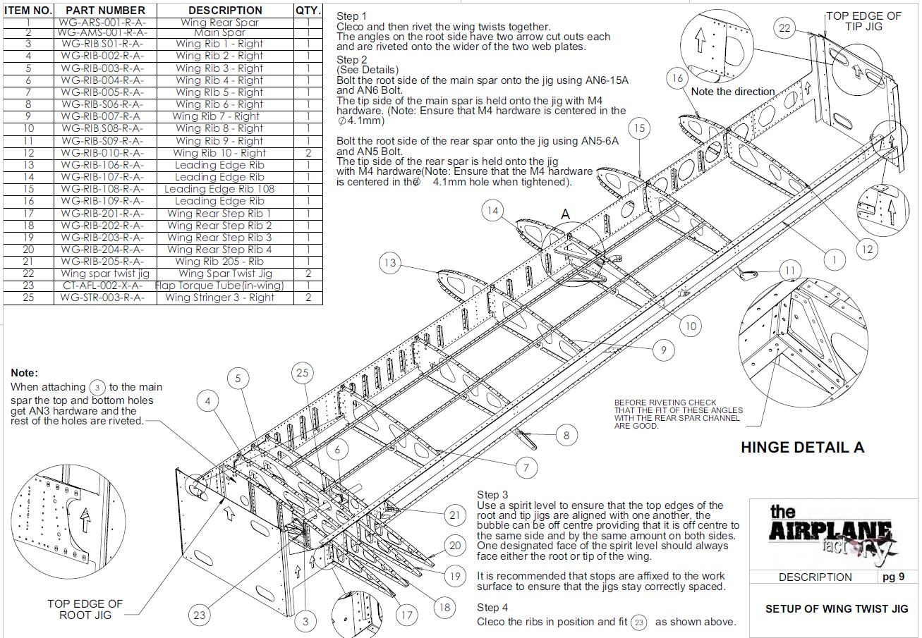 Sling 2 Kit The Airplane Factory Usa
