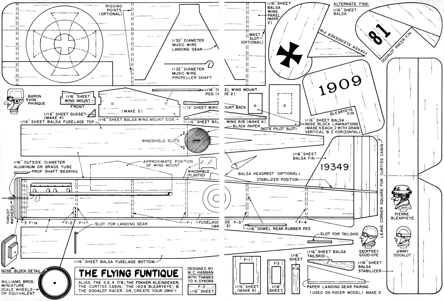 Flying Funtique Article Amp Plans April American