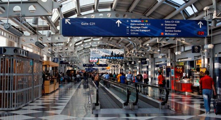 نتيجة بحث الصور عن مطار شيكاغو أوهير الدولي