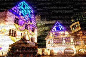 Kaysersberg christmas market with Airport-Taxiservice Basel