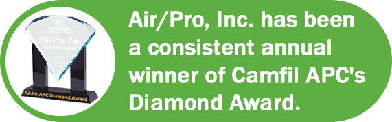 Air/Pro Camfil Diamond Award