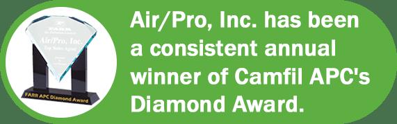 Air/Pro Camfil Diamond Award