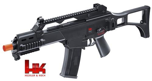 HampK G36C Airsoft Rifle AEG Full Auto Electric And Bonus
