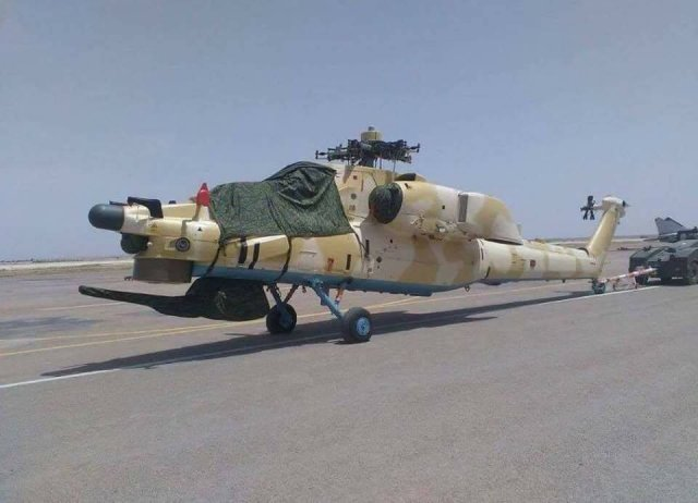 Algeria reportedly took delivery of first two Mi 28NE combat helicopters 640 001