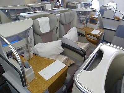 Emirates airbus a332 seat map for Migliori cabine business class 2017