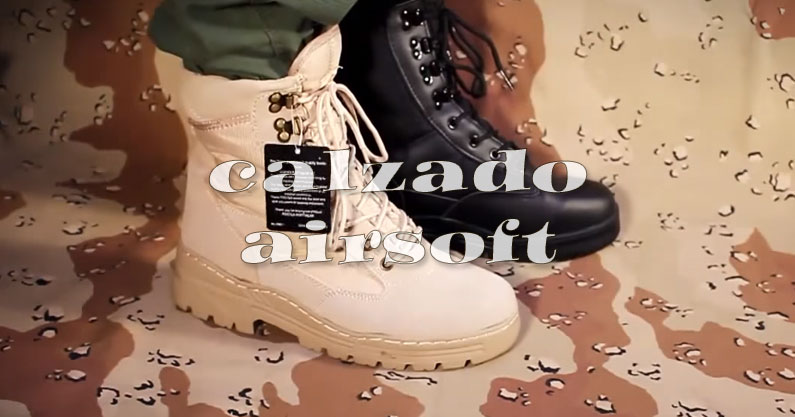 calzado airsoft