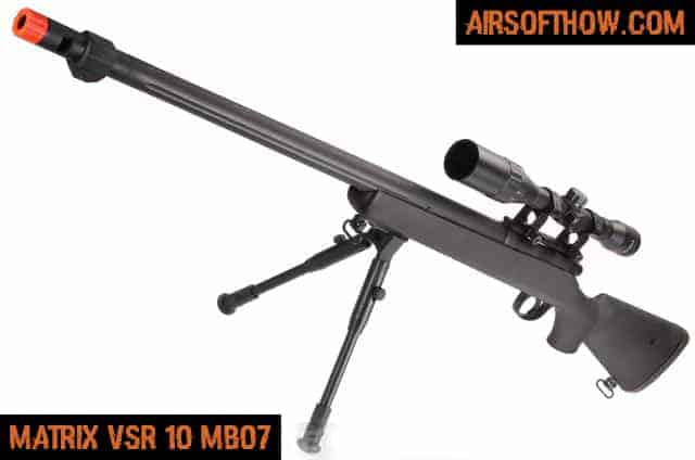 Matrix VSR10 MB07 Bolt Action Sniper Rifle - Airsoft gun