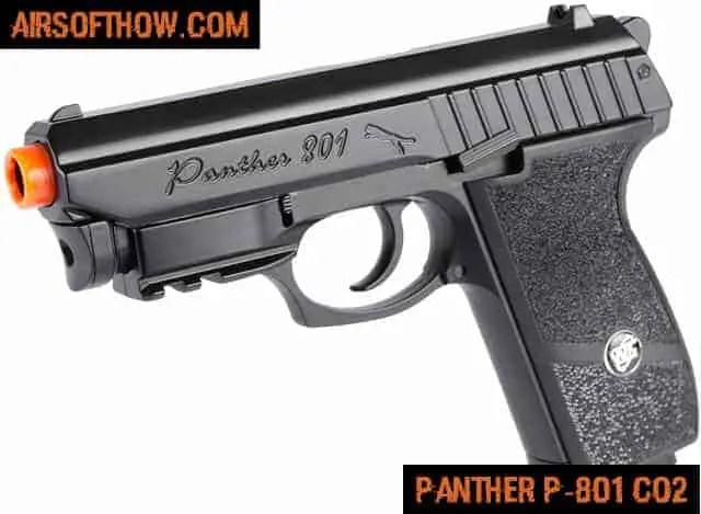 Panther P-801 Full Metal Airsoft CO2 - Airsoft gun