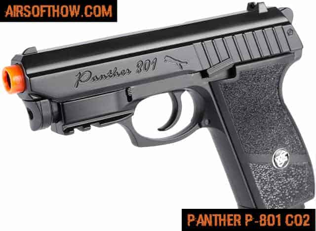 Panther P-801 Full Metal Airsoft CO2