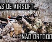 Táticas de Airsoft não ortodoxas.
