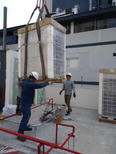 instalacion sistema de aire acondicionado unique yanbal en lima peru airson ingenieros 4