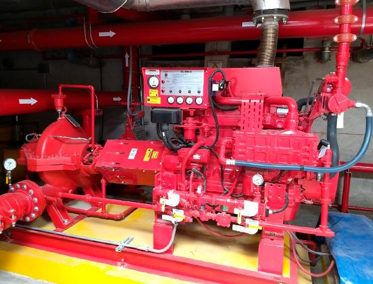 reparacion sistema de red de agua contra incendios en lima peru airson ingenieros