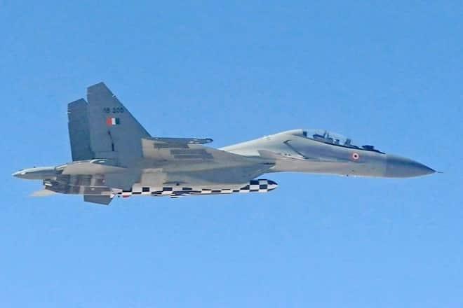 Su-30MKI with BrahMos-A