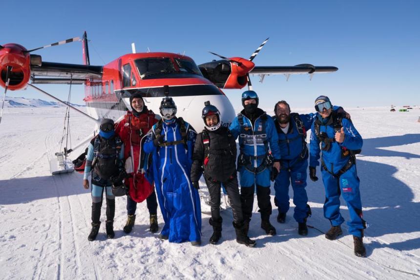 Penerjunan Antartika