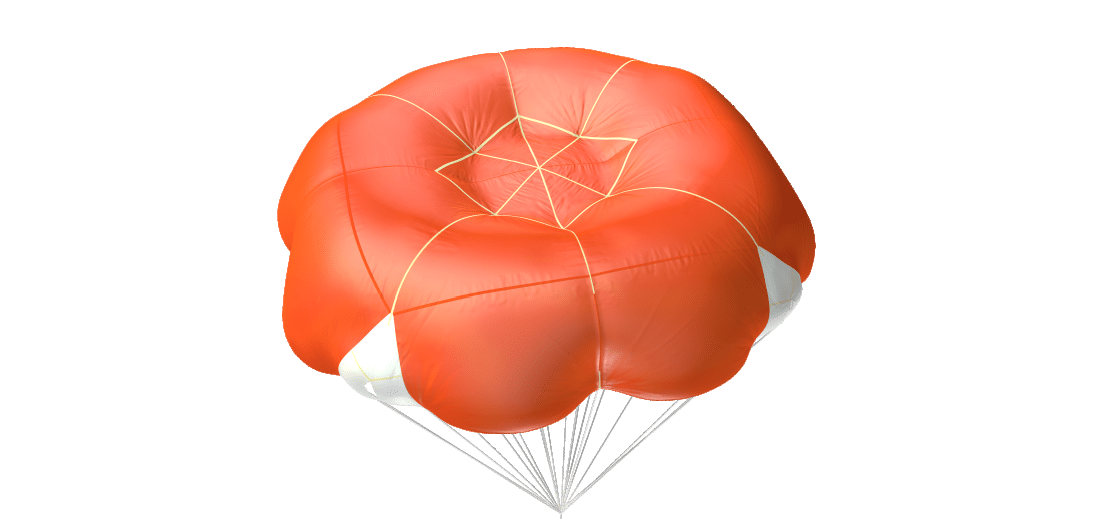 Parachute secours Advance SQR 100 ou 120