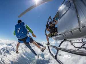 Saut en Parachute Chamonix Mont-Blanc