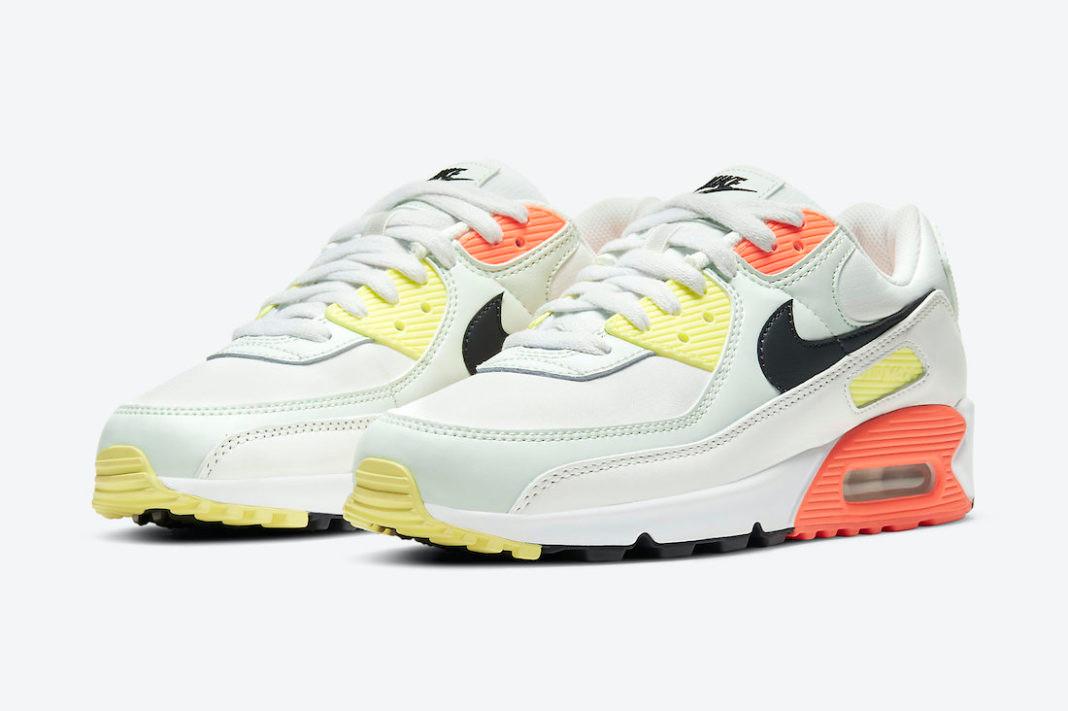 Nike_Air_Max_90_Summit_White_Barely_Green_Bright_Mango_CV8819-101_P1
