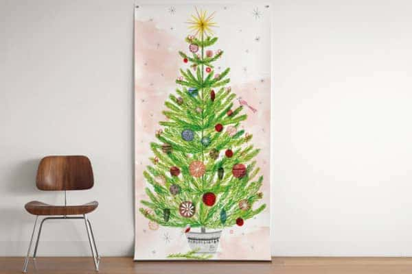 poster-noel ağacı