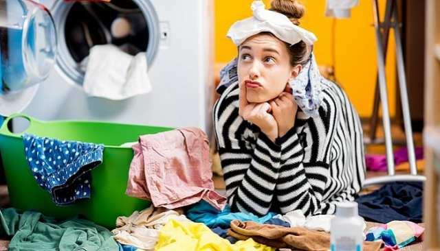 Çamaşır makinesi giysileri