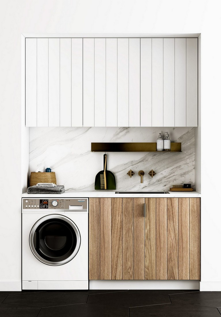 45 Lovely laundry ideas - small laundry design, storage ... on Small Laundry Ideas  id=54272