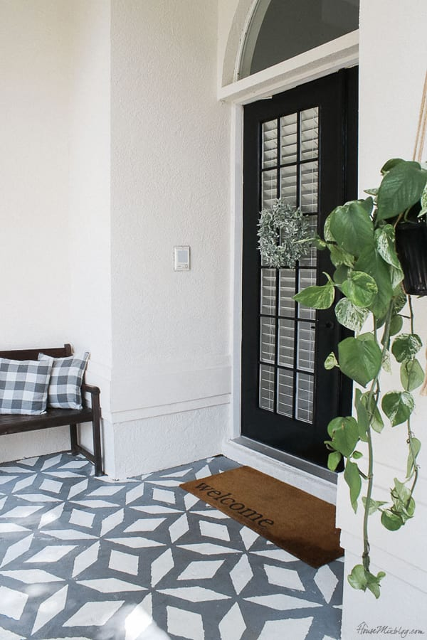 tiles and small porch ideas
