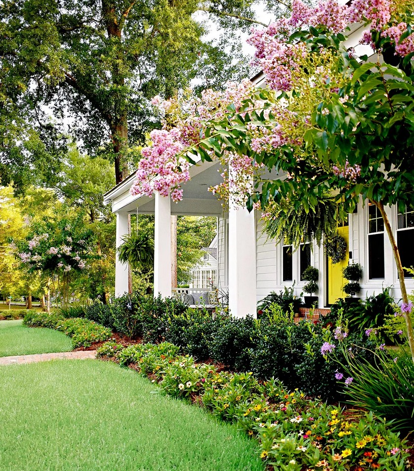 40+ Fabulous front garden ideas - low maintenance and ... on Cottage Yard Ideas id=69934