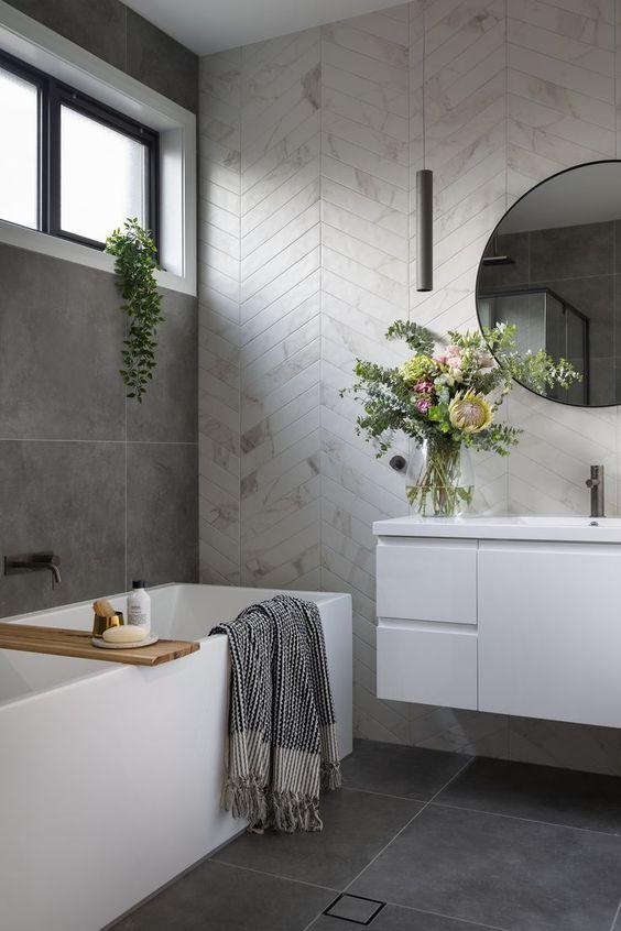 35 concrete bathroom designs