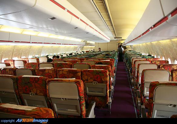 Northwest Airlines Interior
