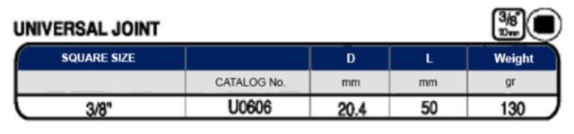 Schermata 2019 08 19 alle 17.41.20 Avvitatori per assemblaggio industriale La miglior qualità di una bussola per avvitatura è riscontrabile dalla capacità di sopportare il maggior numero di colpi ad impatto generati dagli utensili, dalla precisione con cui avviene l'accoppiamento tra l'albero di uscita dell'avvitatore ed il drive ( attacco quadro) della bussola e dalla qualità del materiale in cui la bussola viene realizzata. Le bussole OZAT di Airtechnology sono inoltre realizzate con speciali lavorazioni che combinano le tradizionali elettroerosioni in uno speciale bagno chimico .Tale procedimento conferisce alle bussole caratteristiche di resistenza all'usura e robustezza all'utilizzo uniche nel mercato.