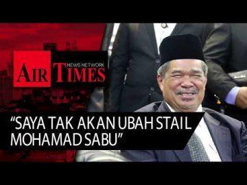 Saya tak akan ubah stail Mohamad Sabu