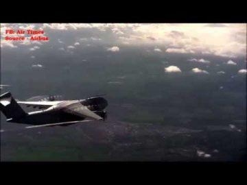 Salah sebuah daripada 4 Pesawat A400M Tempahan TUDM berjaya menjalani ujian pertama penerbangan.
