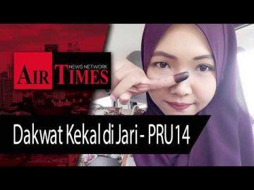 Dakwat Kekal di Jari - PRU14