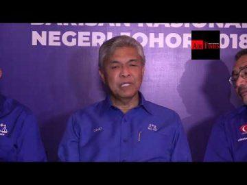 Rakyat Johor Memilih Biru Sebagai Slogan Untuk Mereka Bergerak - Zahid Hamidi
