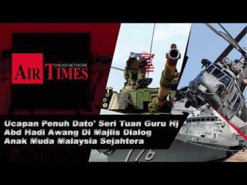 Ucapan Penuh Dato' Seri Tuan Guru Hj Abd Hadi Awang di majlis Dialog Anak Muda Malaysia Sejahtera