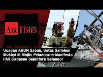Ucapan Penuh ADUN Sabak, Ustaz Sallehen bin Mukhyi