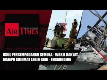 Usul Persempadanan Semula - Wakil Rakyat Mampu Khidmat Lebih Baik - Ehsanuddin