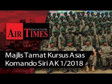 Majlis Tamat Kursus Asas Komando Siri AK 1/2018