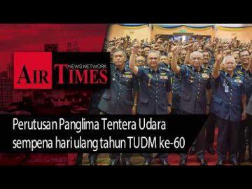 Perutusan Panglima Tentera Udara sempena Hari Ulang Tahun TUDM ke-60