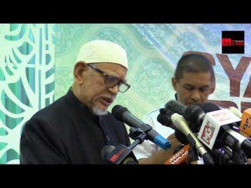 Ucapan Dato' Seri Tuan Guru Haji Abdul Hadi Awang di Majlis Pelancaran Manifesto Gagasan Sejahtera